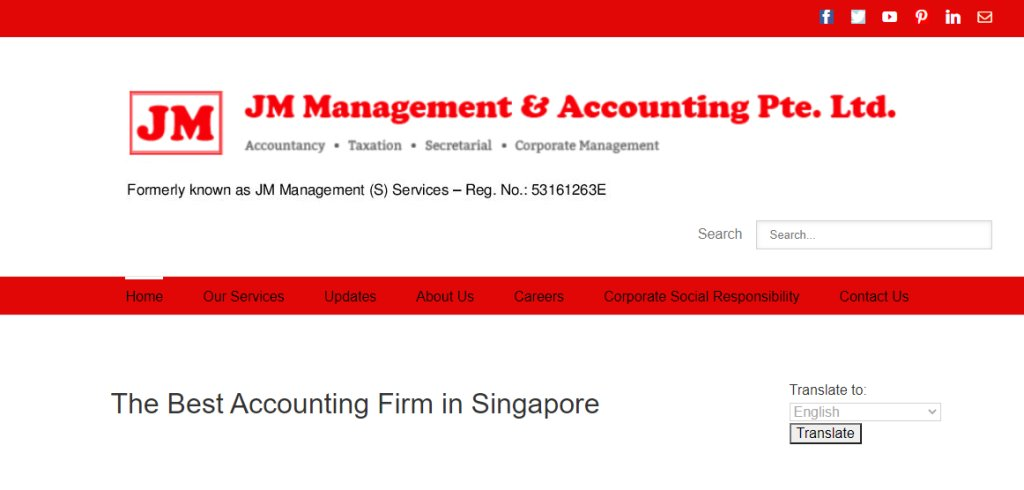 JM Management Top Bookkeeping Services in Singapore