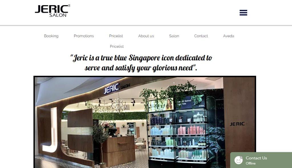 Jeric Salon Top Hair Salons In Singapore