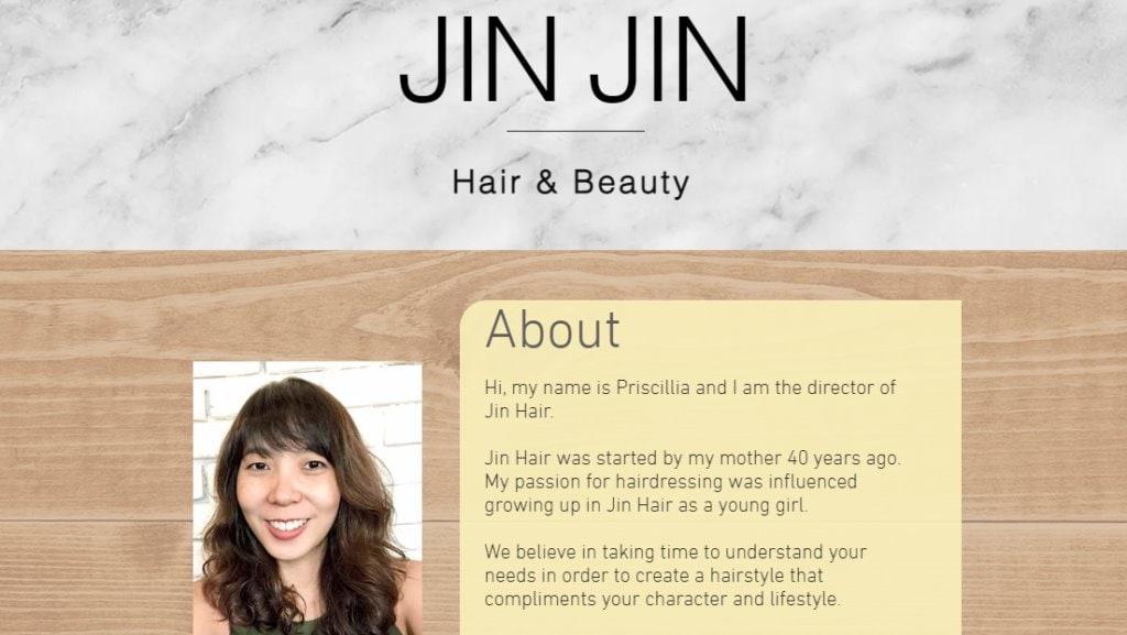 Jin Hair Beauty Top Hair Salons In Singapore