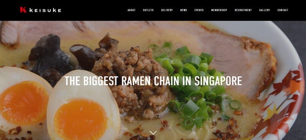 Keisuke Top Ramen Restaurants in Singapore