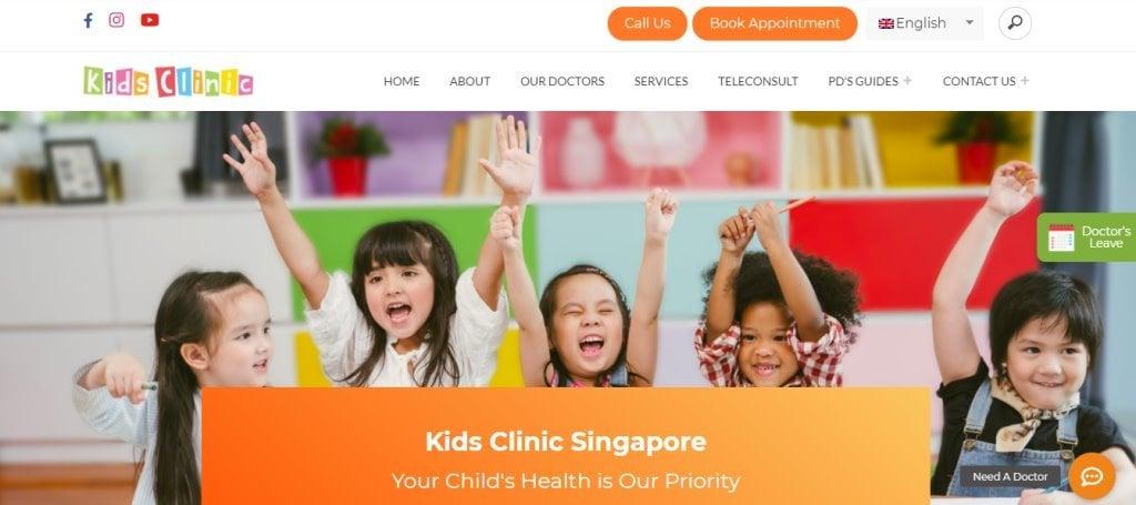 Kids Clinic Top Pediatricians In Singapore