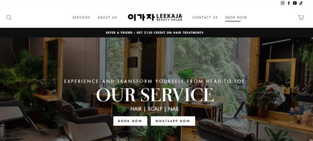 Lee Kaja Top Hair Salons In Singapore