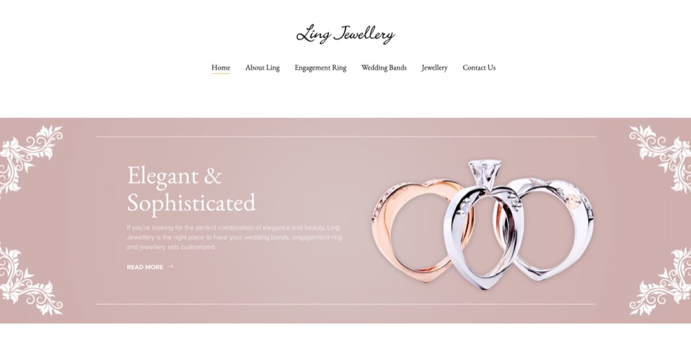 Ling Jewellery select engagement ring etailer singapore