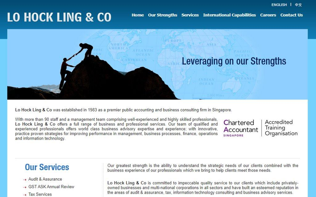 Lo Hock Ling Top Accounting Firms in Singapore