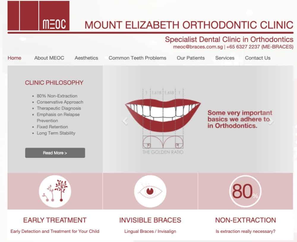 Mount Elizabeth Orthodontic Clinic reviews