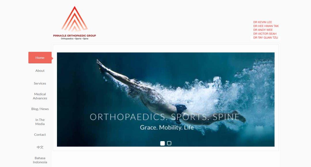 Pinnacle Top Orthopaedic Clinics In Singapore