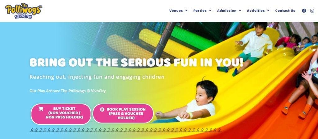 Polliwogs Top Indoor Playgrounds In Singapore