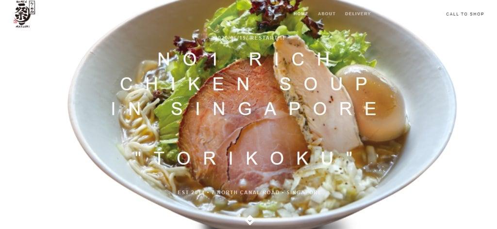 Ramen Matsuri Top Ramen Restaurants in Singapore