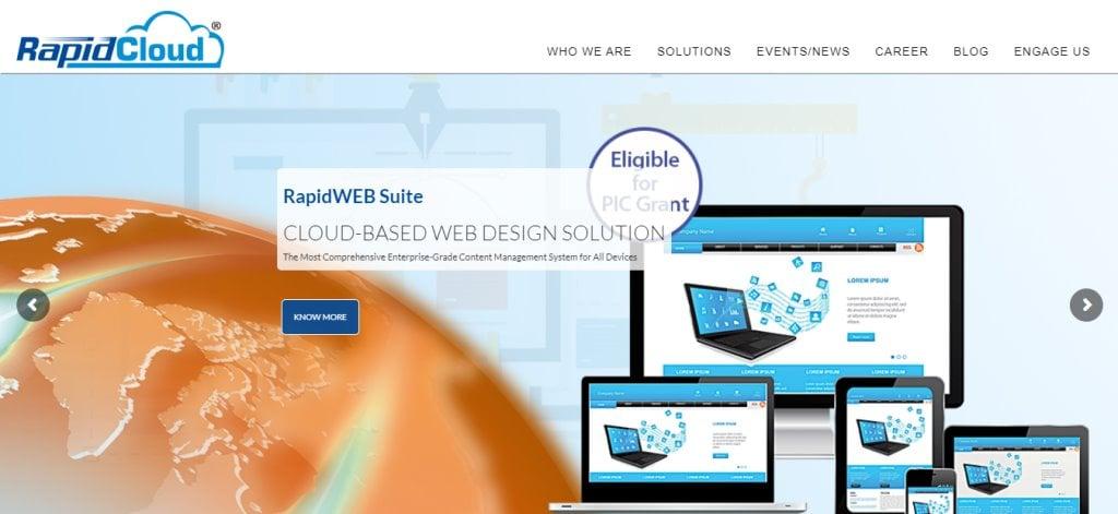 Rapid Cloud Top Cloud Computing Companies in Singapore