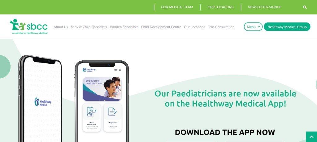 SBCC Top Pediatricians In Singapore