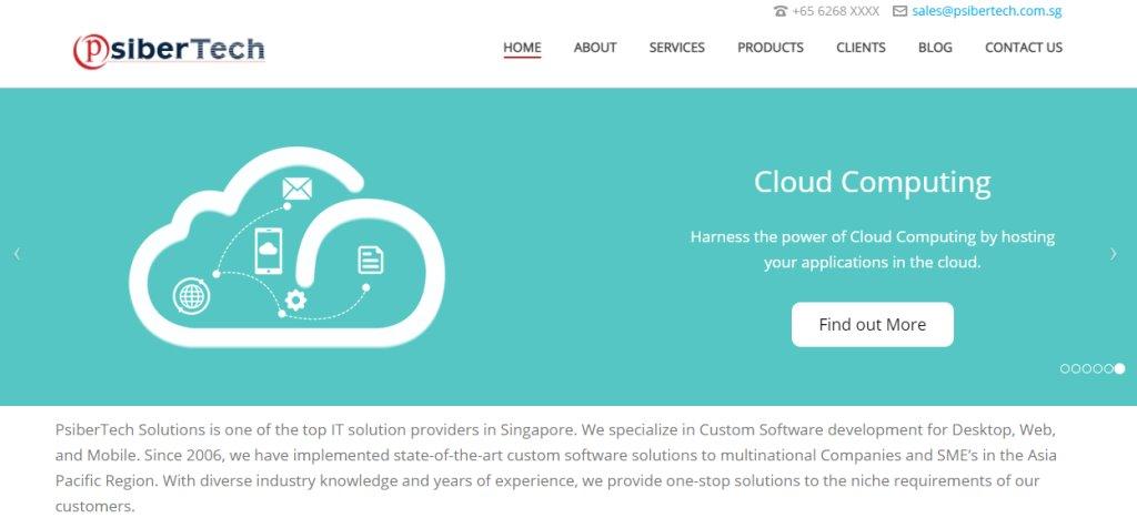 SiberTech Top Cloud Computing Companies in Singapore
