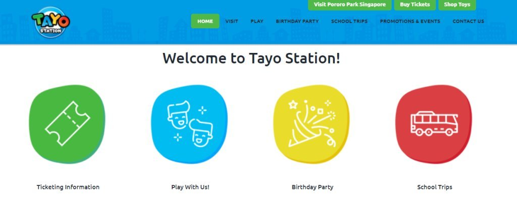 Tayo Top Indoor Playgrounds In Singapore