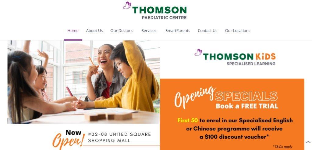 Thomson Top Pediatricians In Singapore
