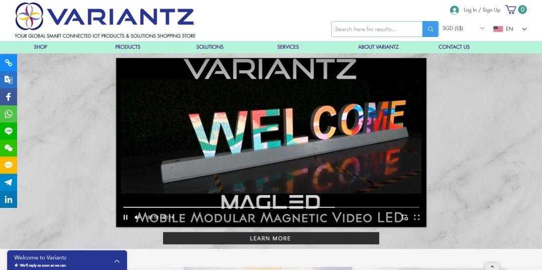 Variantz Top Internet of Things Companies in Singapore