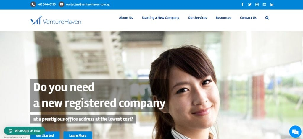 Venture Haven Top Bookkeeping Services in Singapore