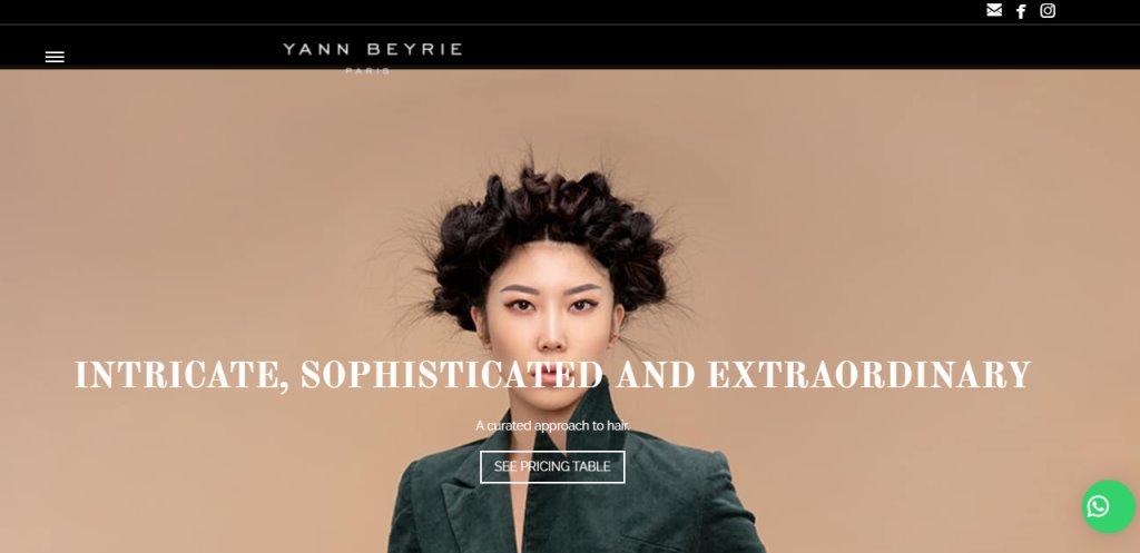 Yann Beyrie Top Hair Salons In Singapore