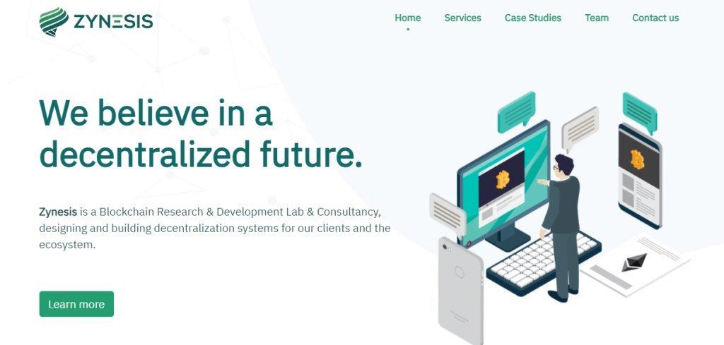 Zynesis Top Blockchain Developers in Singapore