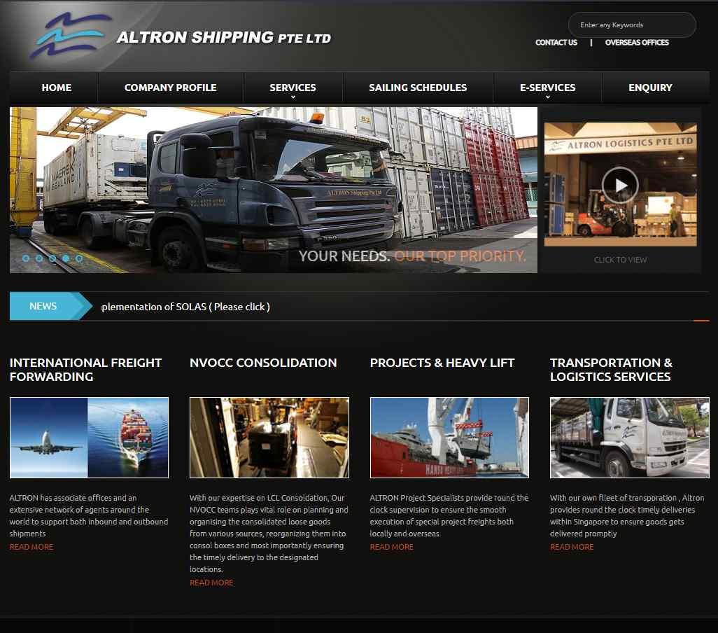altron Top Logistics Companies in Singapore
