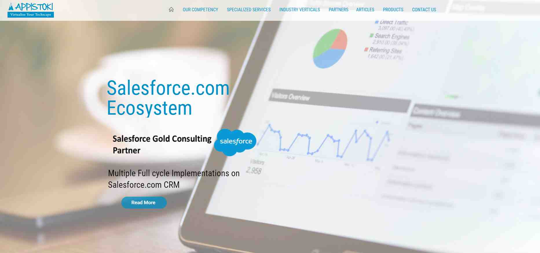 appistoki Top Salesforce Consultants in Singapore