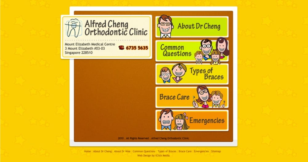best in singapore Alfred Cheng Orthodentist Clinic