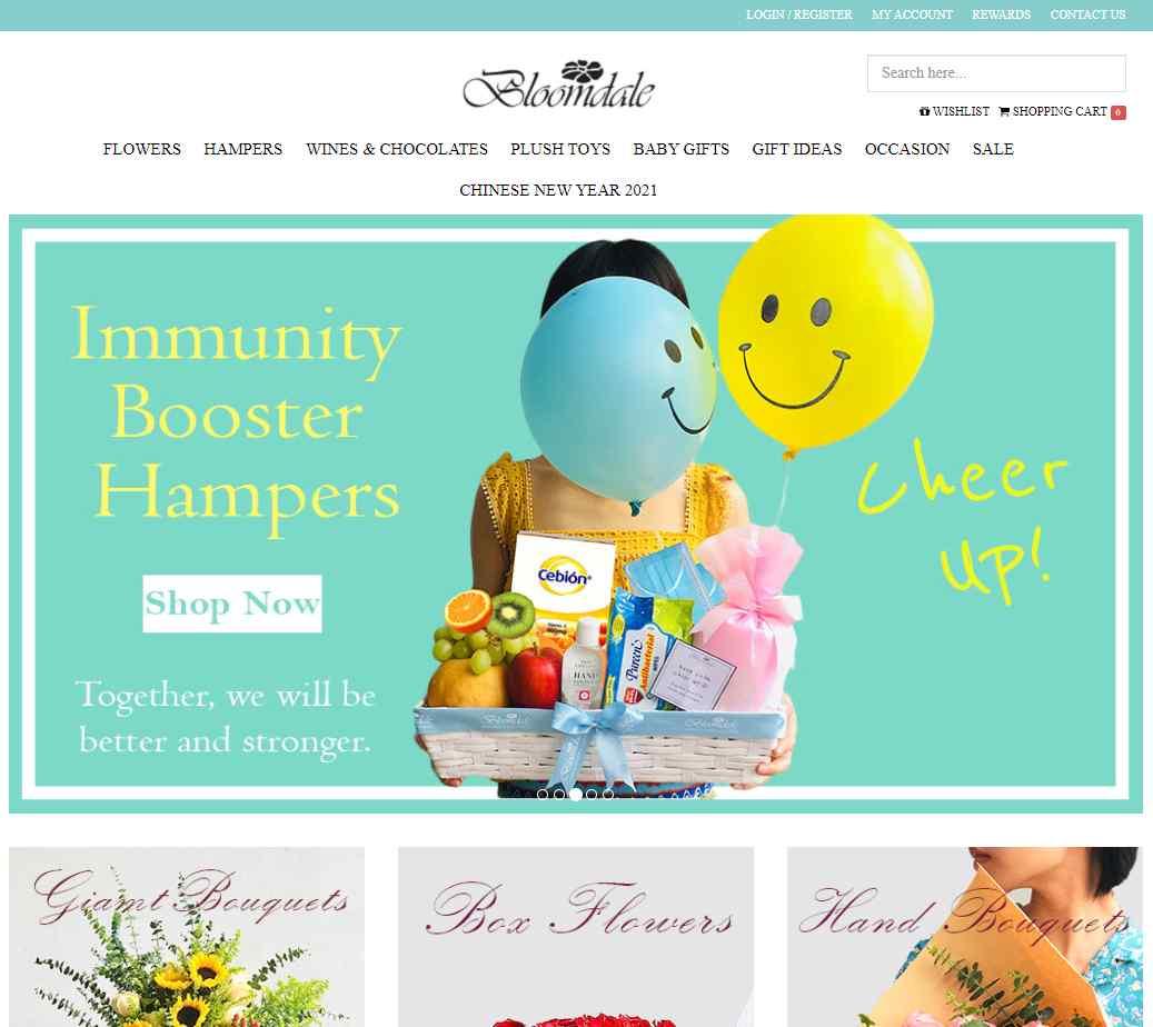 bloom dale Top Gift Hamper Companies in Singapore