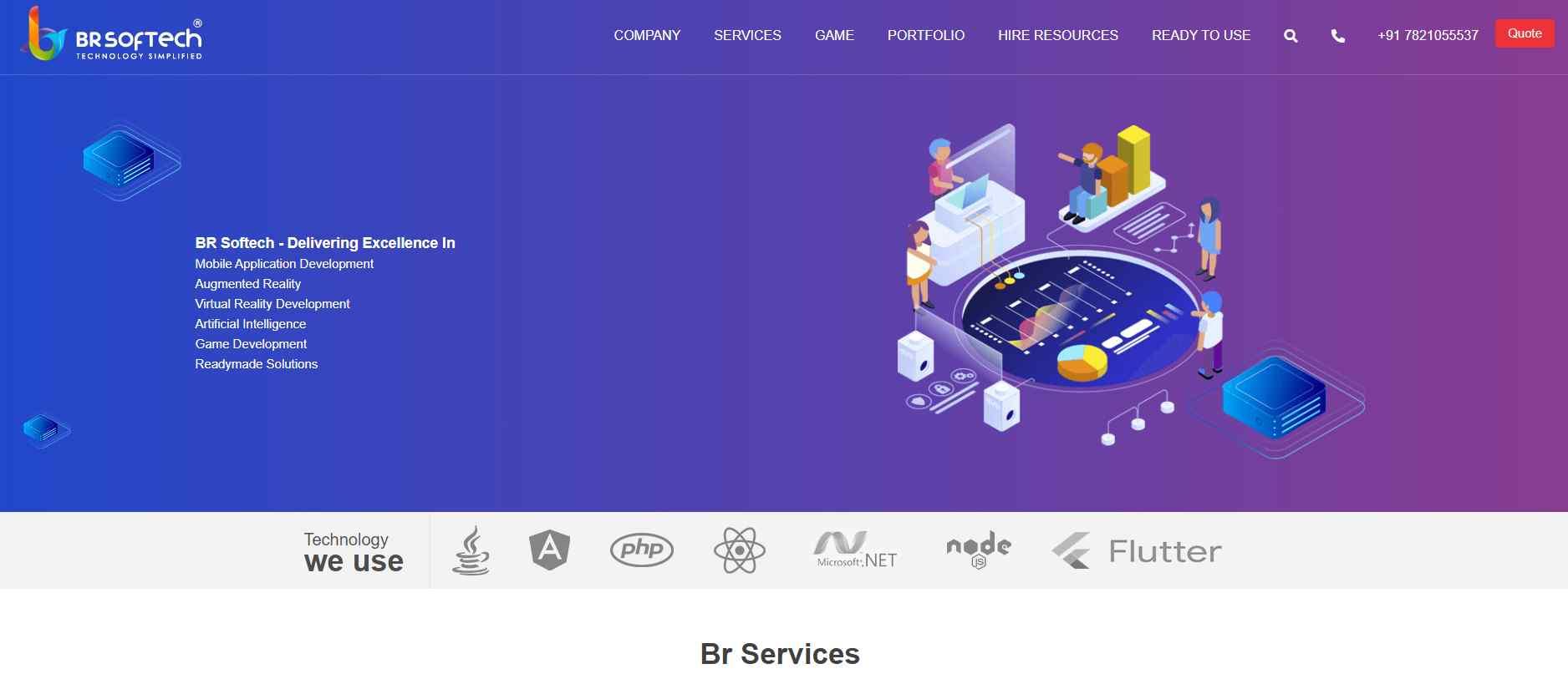 br softech Top Digital Design Agencies in Singapore