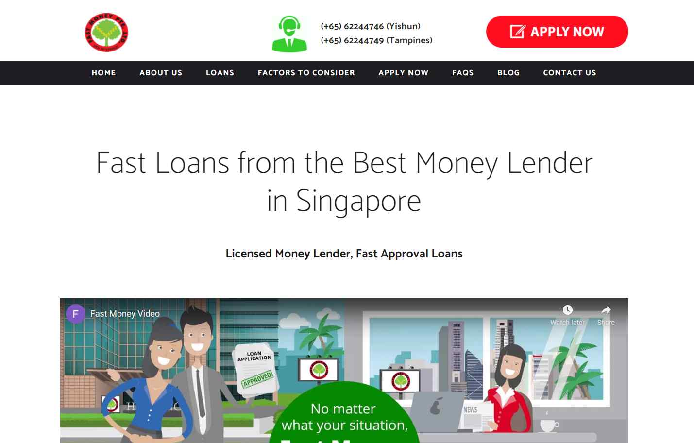 fast money Top Money Lenders In Singapore