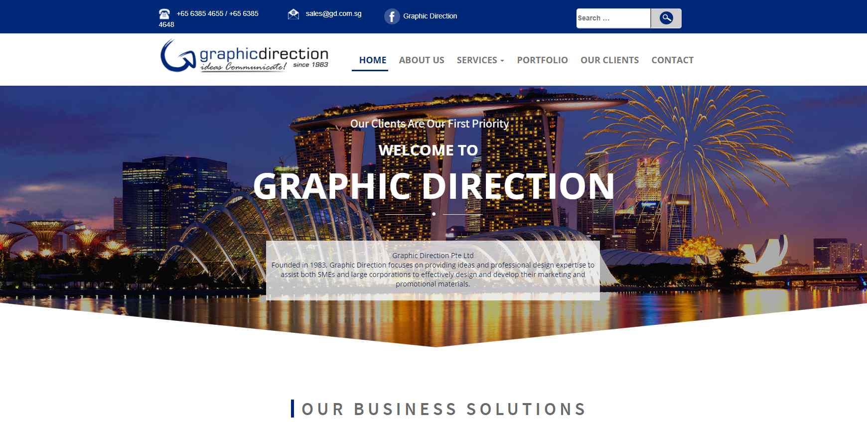 graphic direction Top Digital Design Agencies in Singapore