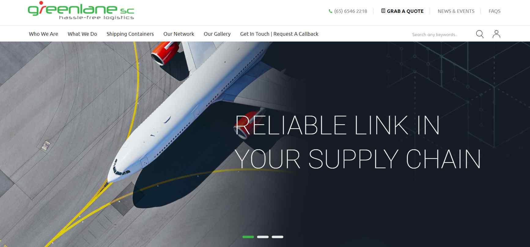 greenlane Top Logistics Companies in Singapore