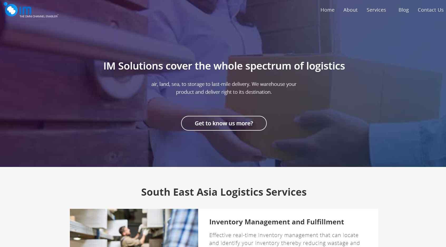 im-holdings Top Logistics Companies in Singapore