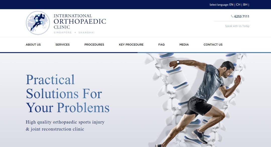 ioc-ortho Top Orthopaedic Clinics In Singapore