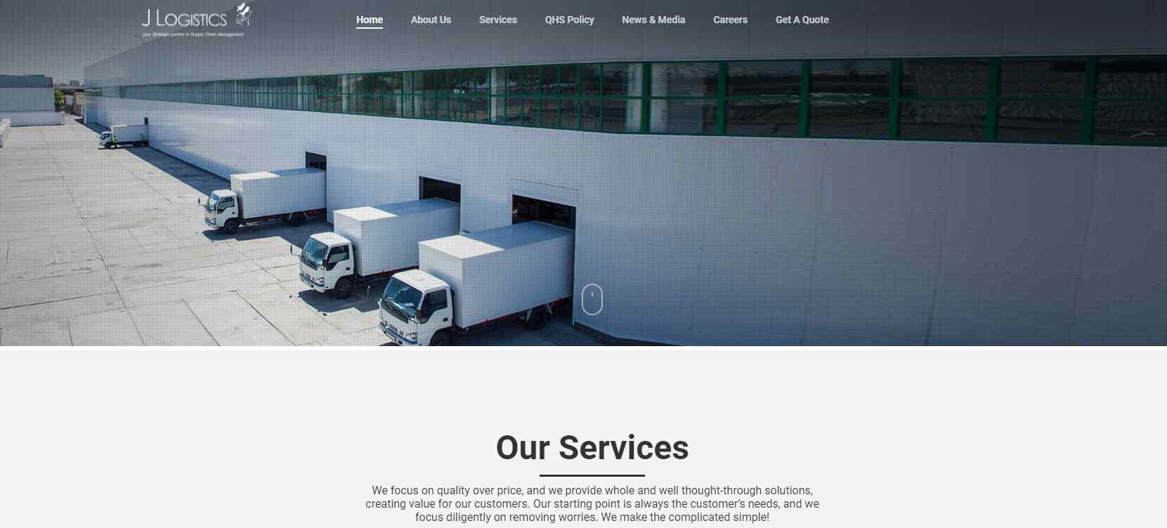 j logistics Top Logistics Companies in Singapore
