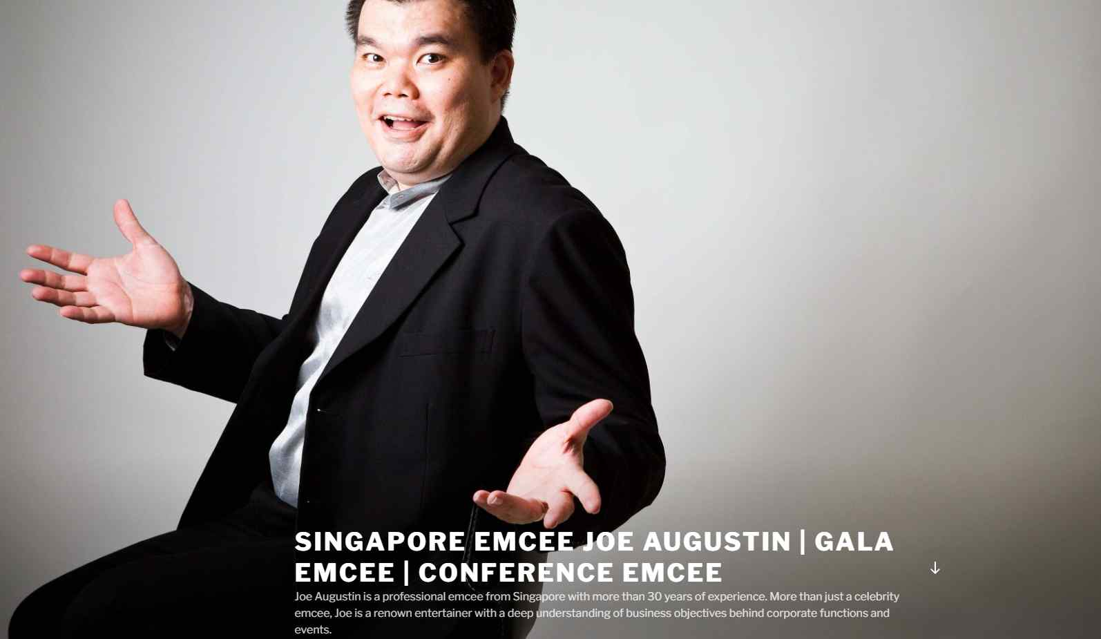 joe augustin The Top Emcees in Singapore