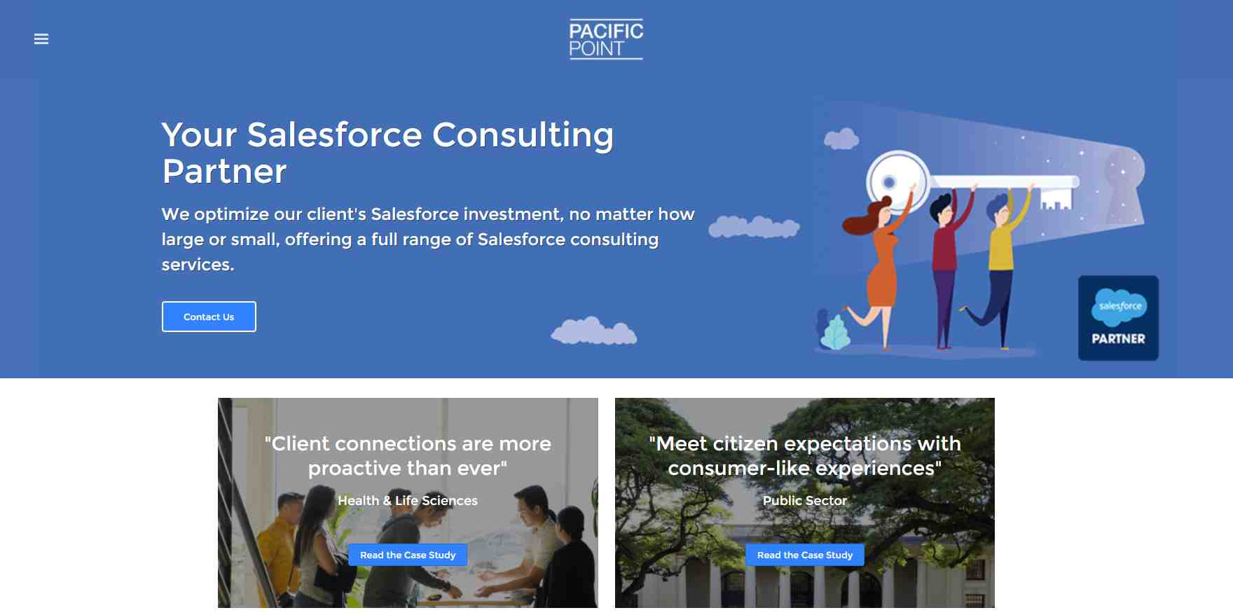 pacific point Top Salesforce Consultants in Singapore