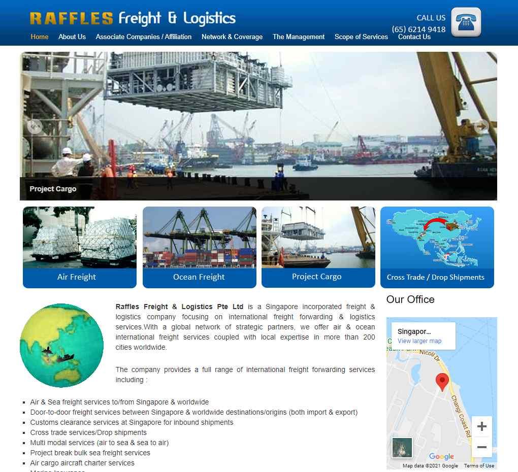 raffles Top Logistics Companies in Singapore