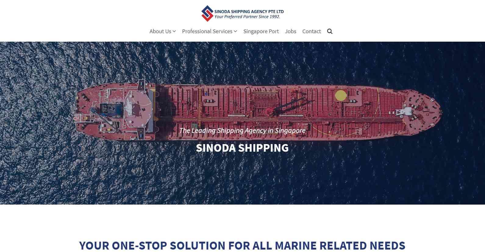 sinoda Top Logistics Companies in Singapore