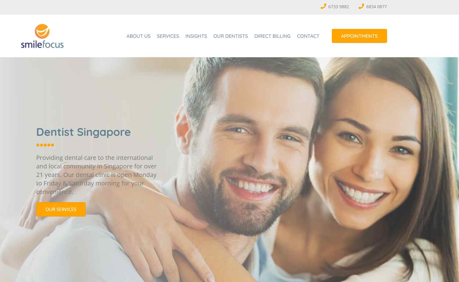 smile focus Top Orthodontics & Clinics Providing Invisalign In Singapore