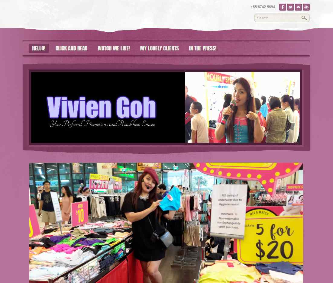 vivien goh The Top Emcees in Singapore