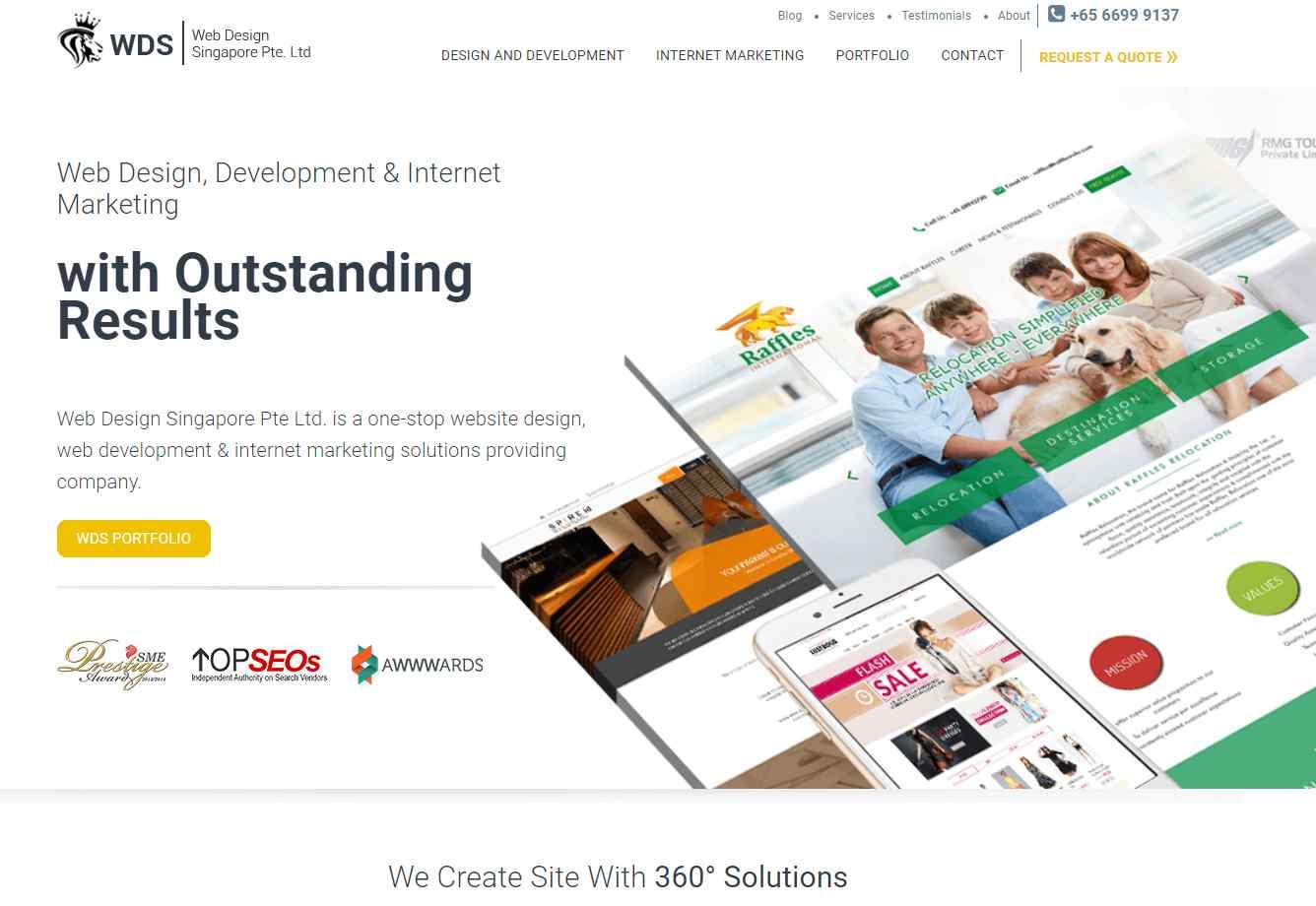 wds Top Digital Design Agencies in Singapore