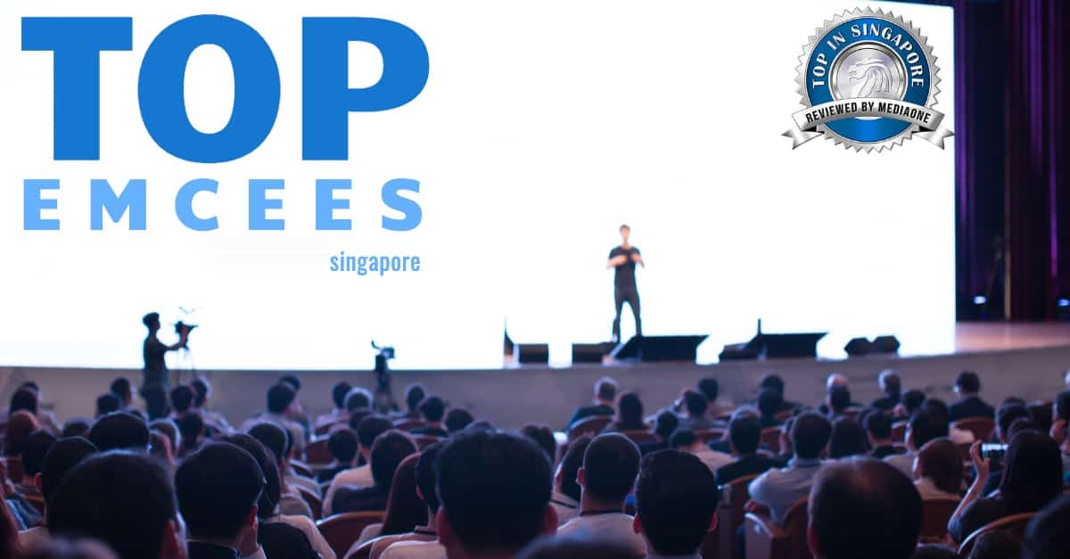 who are the best emcees for your event in singapore