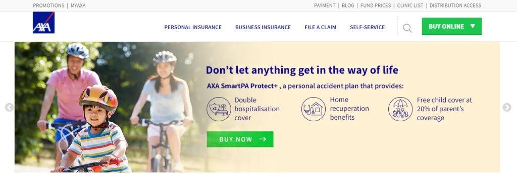 AXA Top Insurance Companies in Singapore
