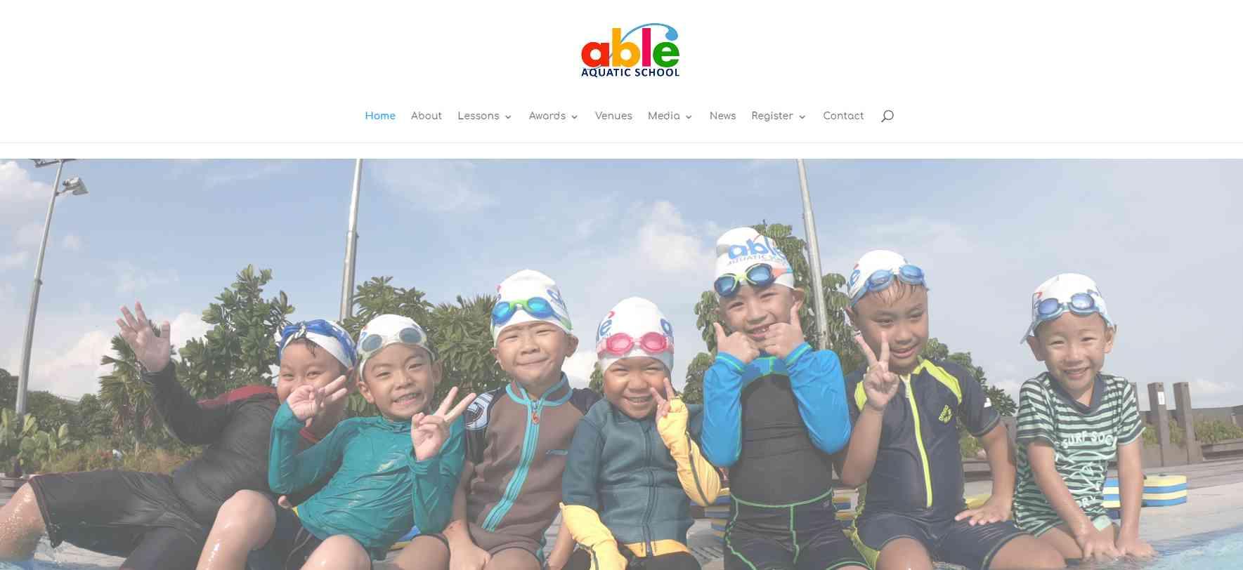 Able Aquatic School Top Swimming Schools in Singapore