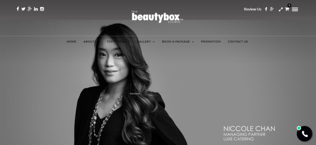 Beauty Box Top Photography Studios in Singapore