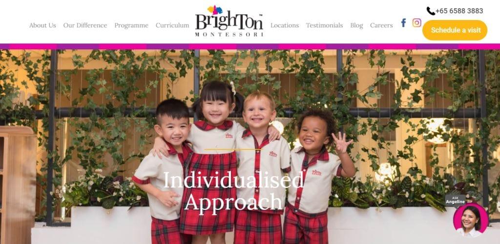 Brigton Montessori Top Preschools in Singapore