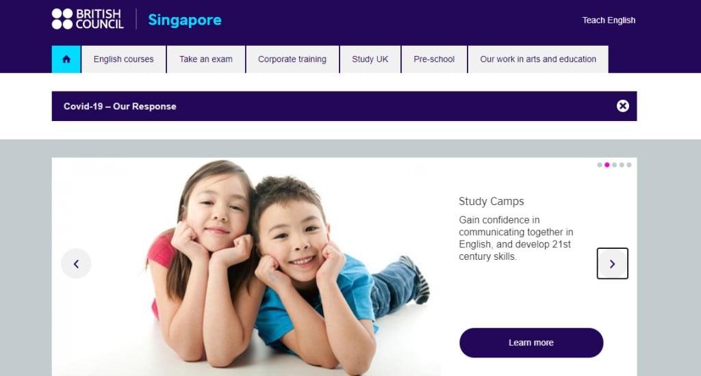 British Counsil Top Preschools in Singapore