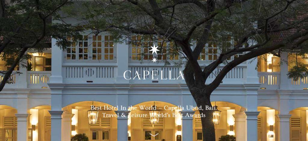 Capella Hotel Top Hotels in Singapore