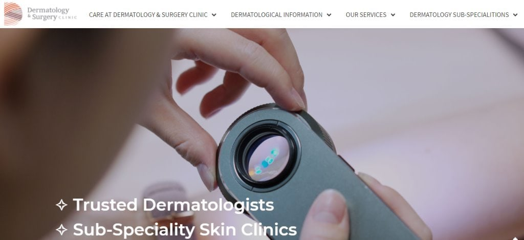 Dermatology Clinic Top Dermatologists in Singapore