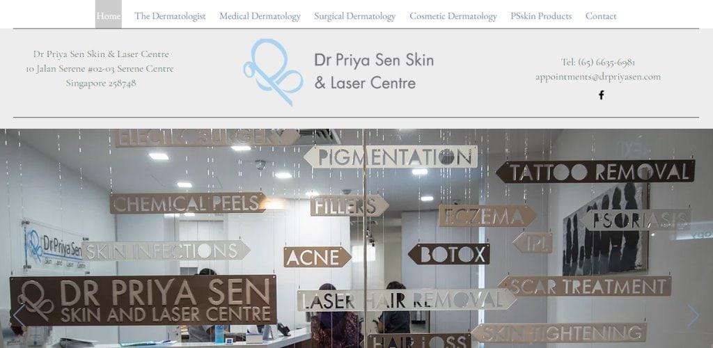 Dr Priya Sen Top Dermatologists in Singapore