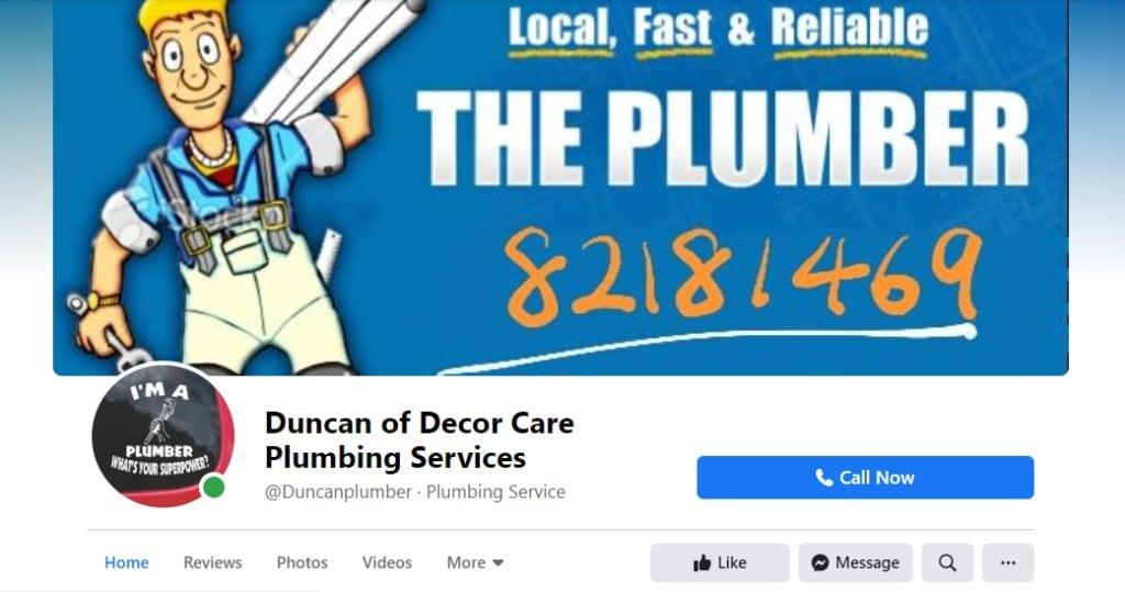 Duncan Top Plumbers in Singapore