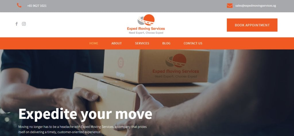 Exped Moving Top Movers in Singapore
